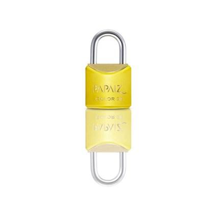 Cadeado com Chave 20mm Latão Amarelo Color Line Papaiz