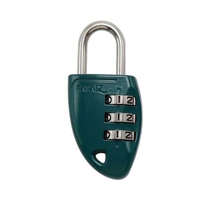 Cadeado com Segredo CS23 30mm Zamac Verde Papaiz