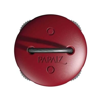 Cadeado com Segredo e Haste de Aço Flexível 7cm Zamac Vermelho Papaiz