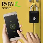 Cadeado Papaiz Smart com Bluetooth