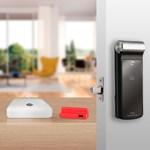 COMBO - Fechadura Digital YDF 30 abre com APP, Senha, Cartão - Trinco Lingueta Tubular