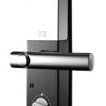 COMBO - Fechadura Digital YMF 40 abre com APP, Biometria e Senha - Trinco Lingueta e Reversível