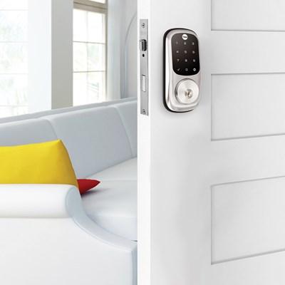 COMBO - Fechadura Digital YRD 226 RL abre com APP e Senha - Trinco Rolete