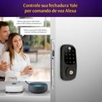 COMBO - Fechadura Digital YRD 226 RL Petróleo abre com APP e Senha - Trinco Rolete