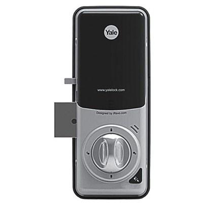Fechadura Digital YDR 323 abre com Senha e Cartão - Trinco Lingueta Retangular