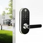 Fechadura Digital YMC 420 D com Zigbee integrado - abre por Biometria, senha e cartão