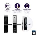 Fechadura Digital YMF 30 abre com Senha e Cartão - Trinco Lingueta e Reversível