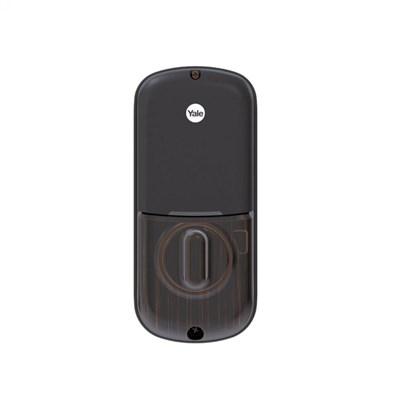 Fechadura Digital YRD 226 RL Petróleo, Abre Com Senha E Chave - Trinco Rolete