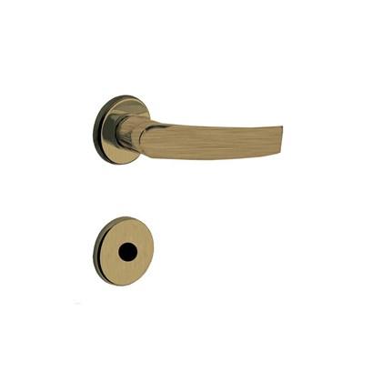 Fechadura para Porta de Banheiro Antique 40mm com Roseta MZ950 Standard Papaiz