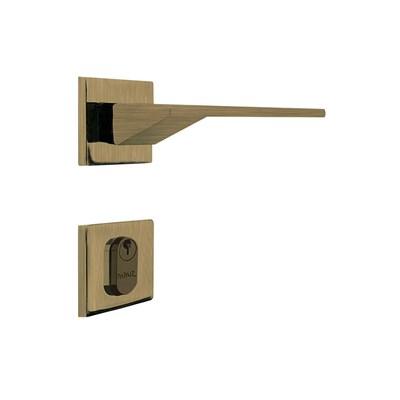 Fechadura para Porta de Entrada Antique 55mm com Roseta MZ940 Design Papaiz