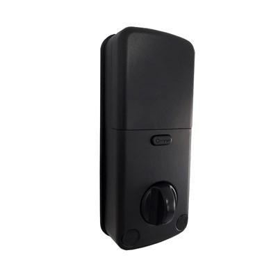 Fechadura Smart lock Embutida preta SL110 s/ maçaneta