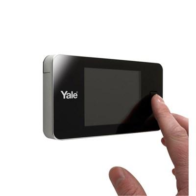 Olho Mágico Digital Real View com Tela LCD, Câmera com Visão de 105°